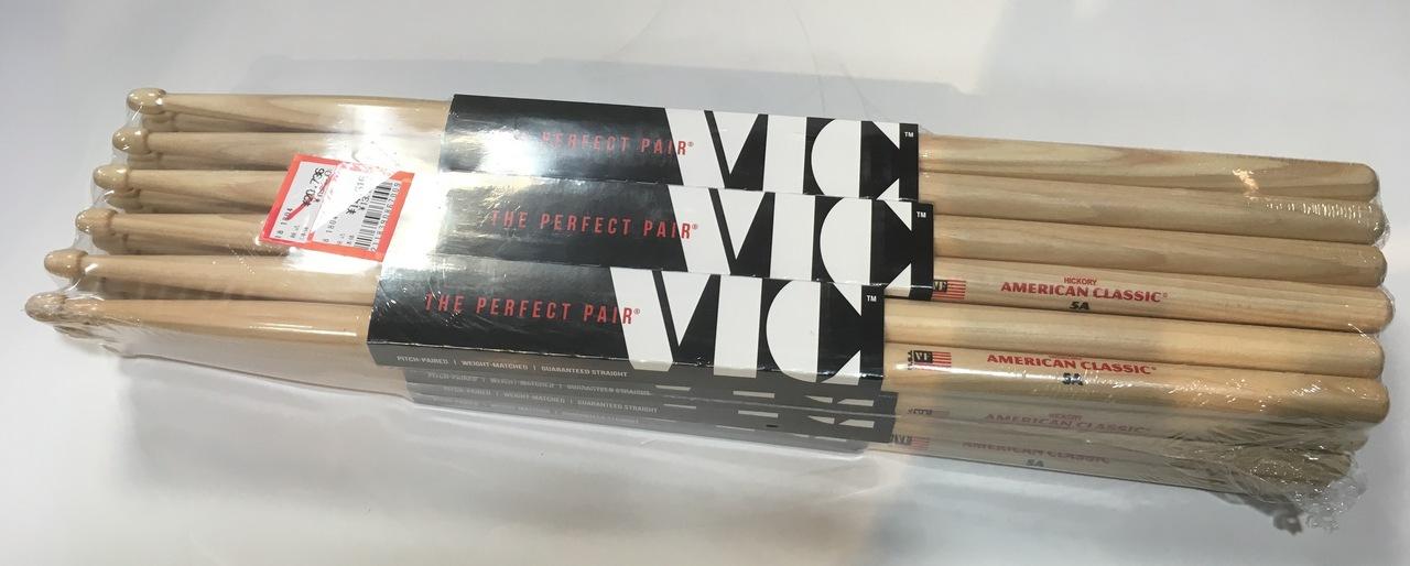 VIC FIRTH 5A 12 pairs (1 dozen) [bargain]