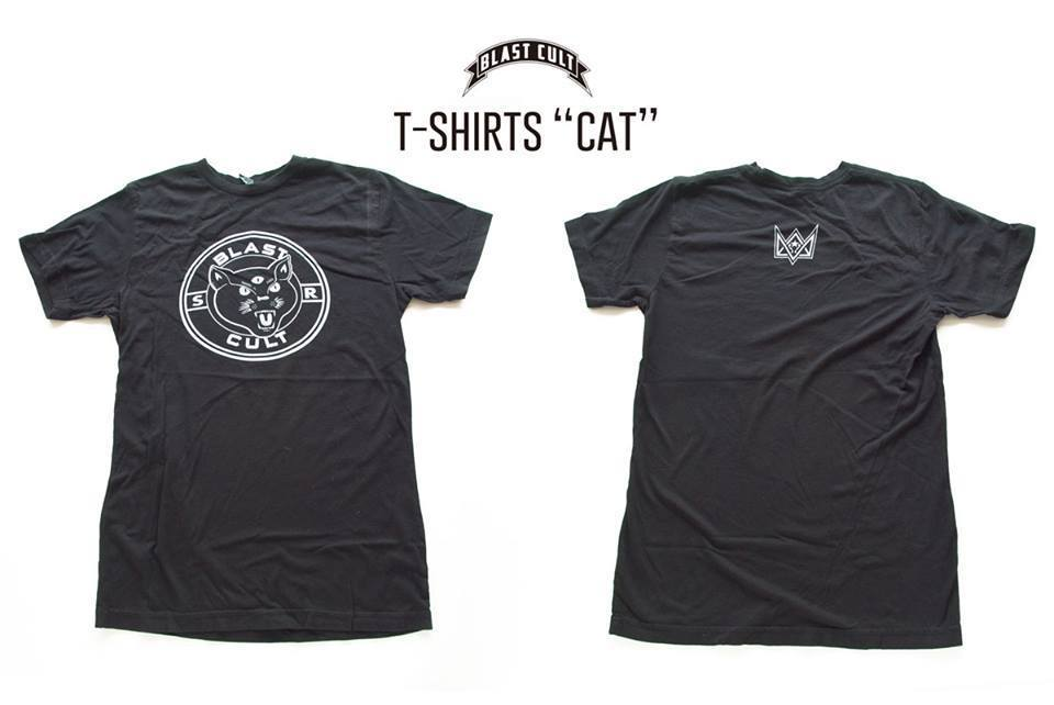 "Blast Cult T-SHIRTS ""CAT"" / SIZE S"