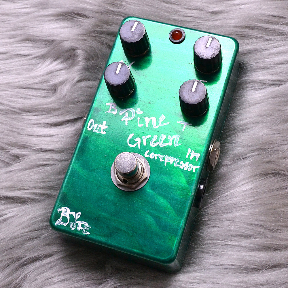 BJF Electronics PineGreenCompressor【伝説のBJFEペダル、PGC!】
