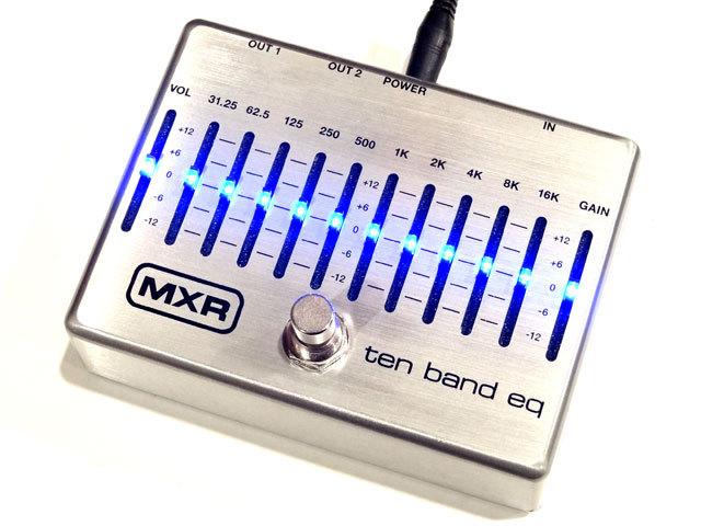 MXR M108S M108S 10频段图形均衡器