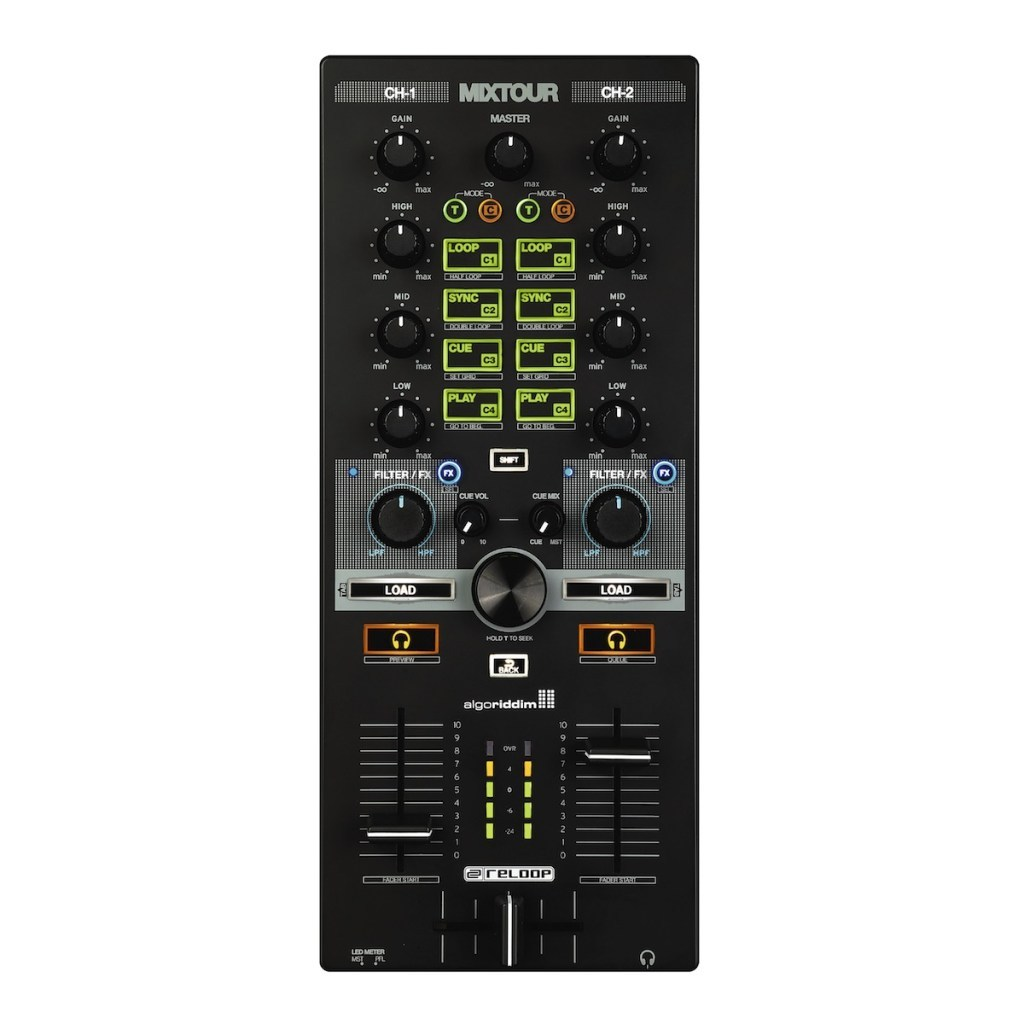 reloop MIXTOUR [smartphone and DJ controller for the tablet!] []
