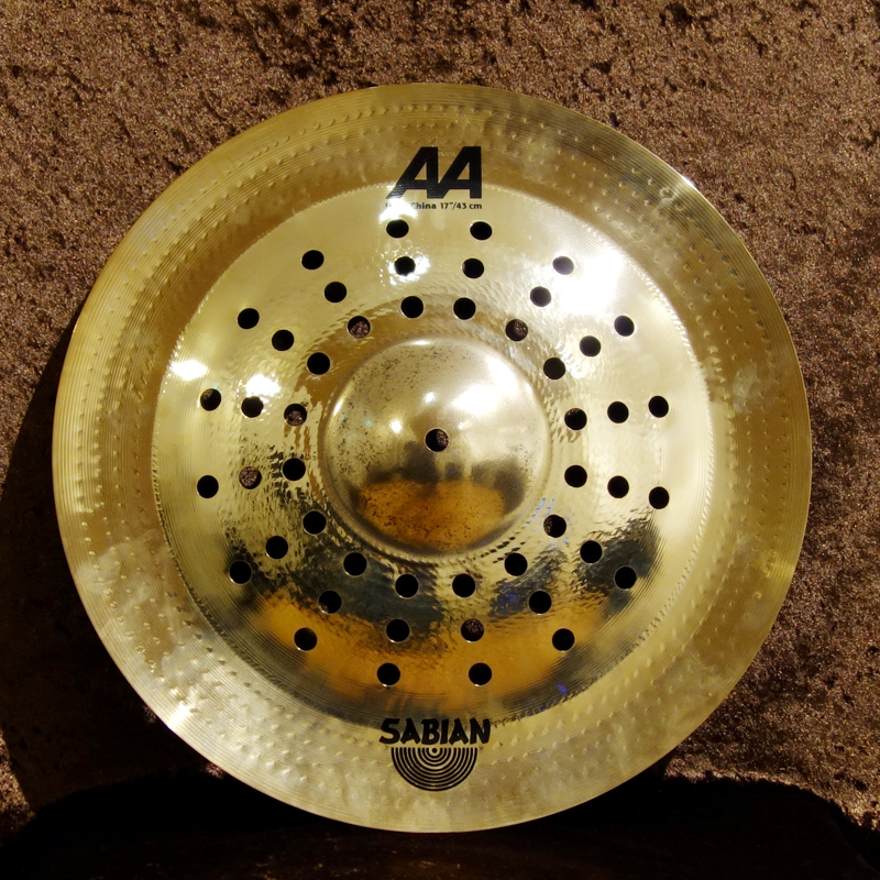 """SABIAN AA HOLY CHINA 17 """"(Brilliant) - one limited 50% OFF !!!]"""