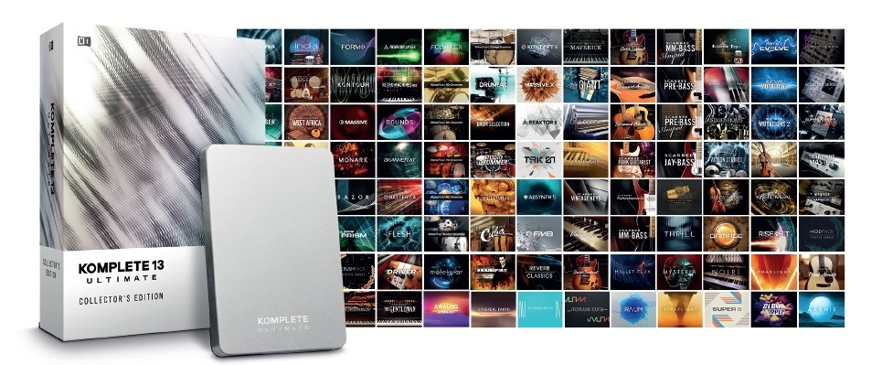 NATIVE INSTRUMENTS KOMPETE13 Ultimate Collectors Edition【送料無料】【予約受付中】