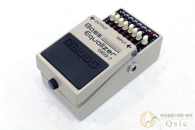 BOSS GEB-7 Bass Equalizer [TD054]
