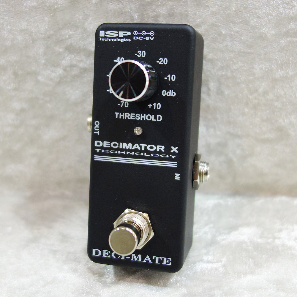 [Introducing !! classic noise gate is made in a small size] iSP Technologies DECI-MATE MICRO PEDAL