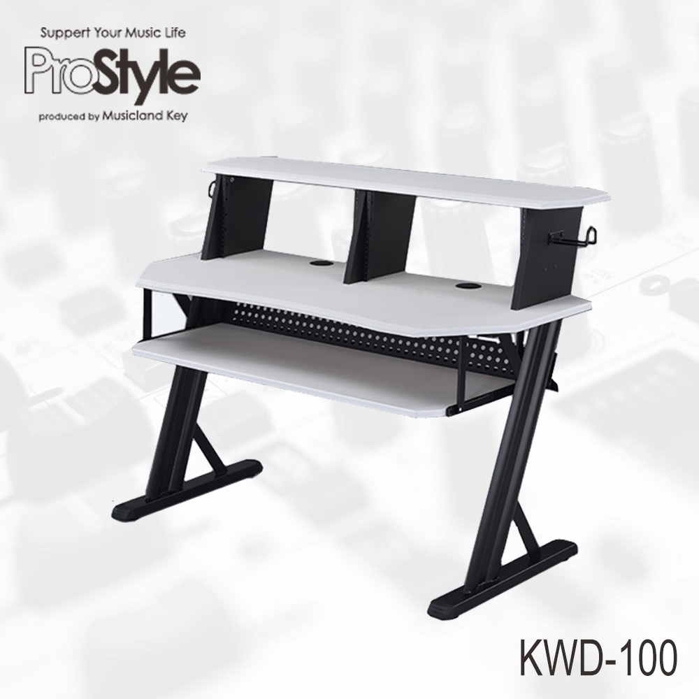 Pro Style KWD-100 WH Home Recording Table【家庭用DTMデスク!店頭にて展示中!】