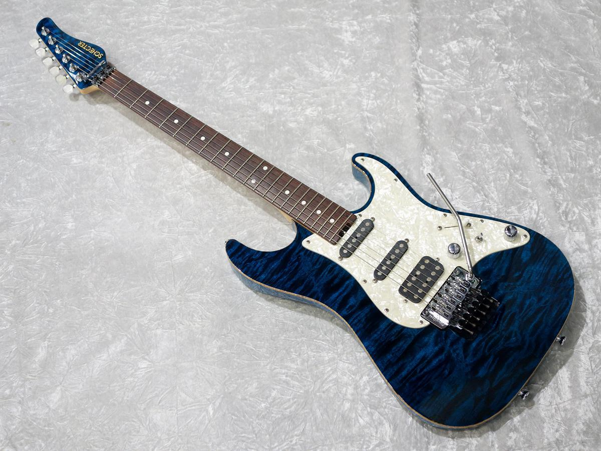 SCHECTER EX-IV - 22-CTM FRT BLU / R [18 times until the interest rate fees!]