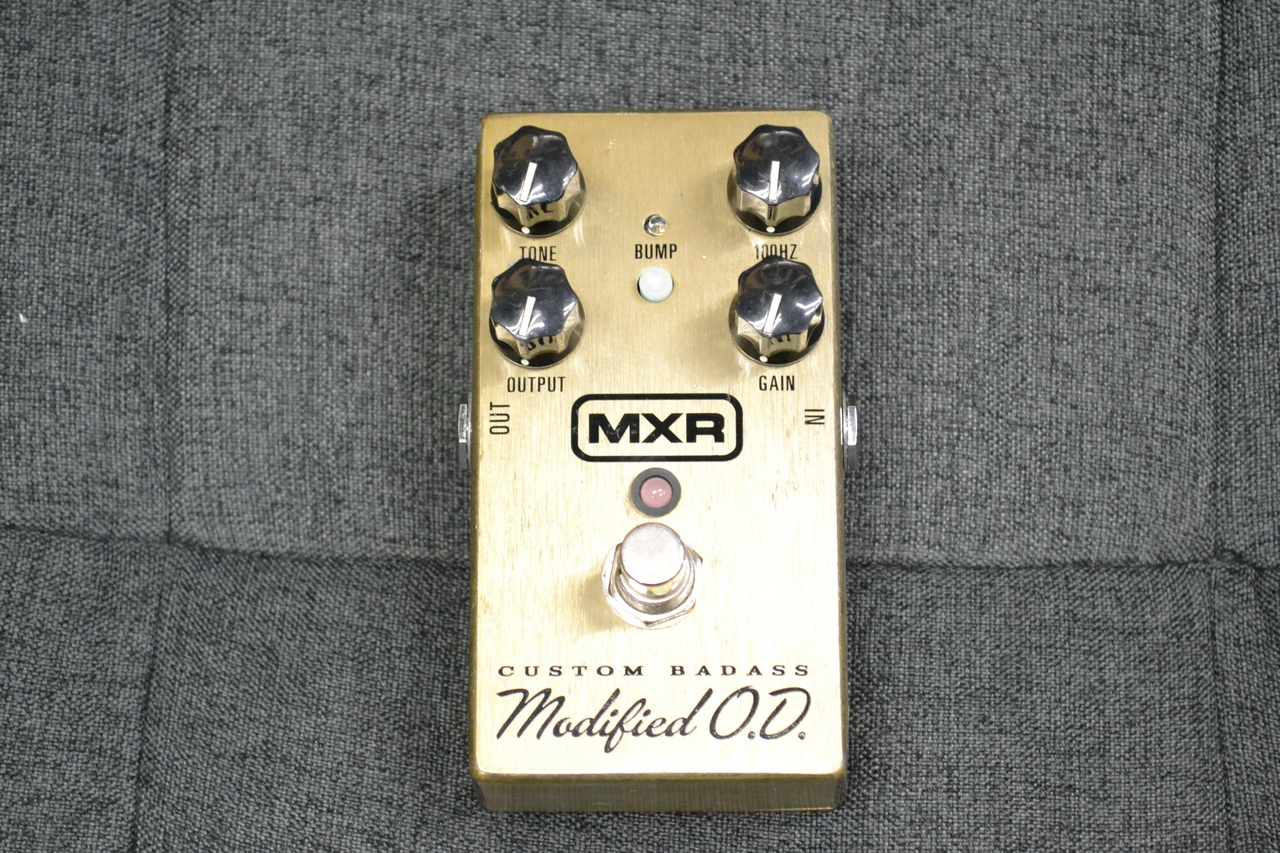 MXR M77 Custom Badass Modified Over Drive