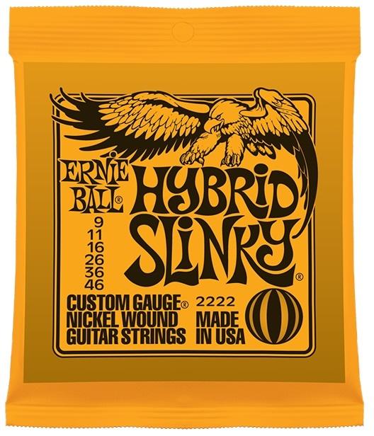 ERNIE BALL # 2222 Hybrid Slinky