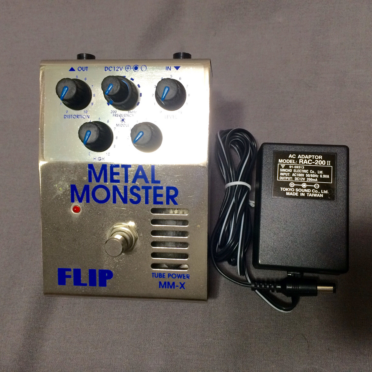 Guyatone Guyatone FLIP METAL MONSTER TUBE POWER MM-X