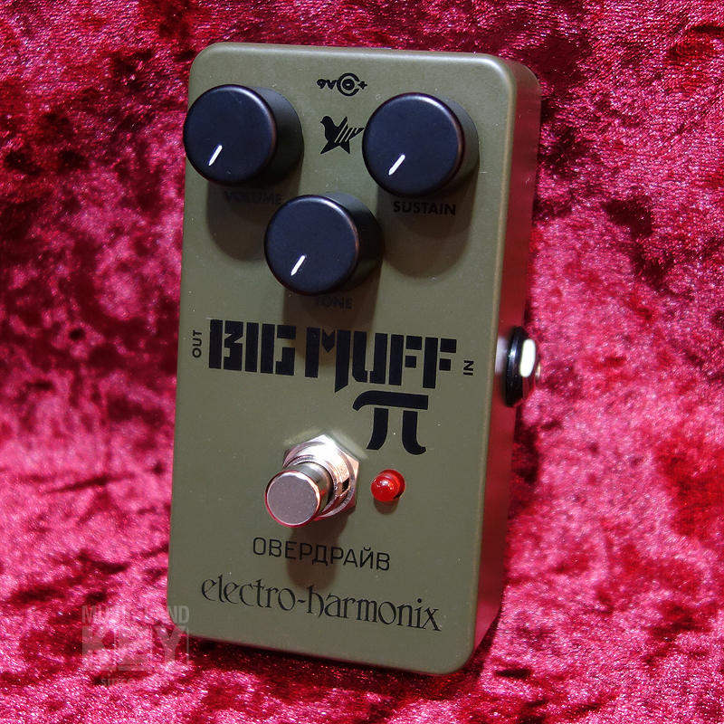 Electro-Harmonix Green Russian Big Muff [Coming only one still popular Stock !! Roshianmafu reprinted!] []