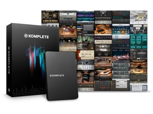 NATIVE INSTRUMENTS KOMPLETE 11 UPD 2-10 [limited number of new Specials!]