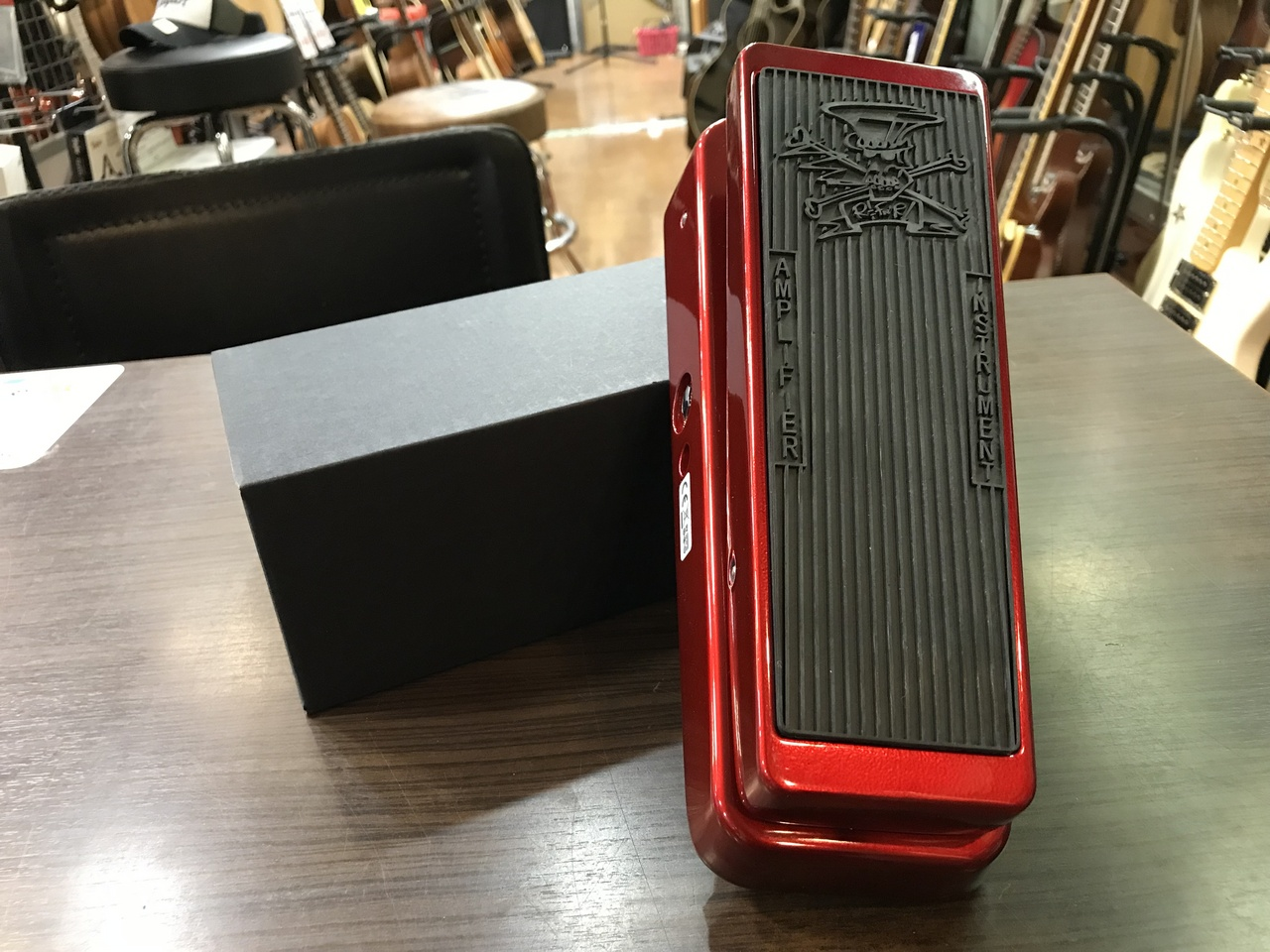Jim Dunlop SC95R Slash Limited Classic Wah Apple Red [exhibition replacement Specials] [Limited model]