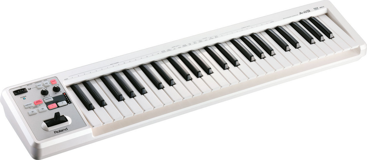 Roland A-49 / WH [simple and compact 49 keyboard!] []