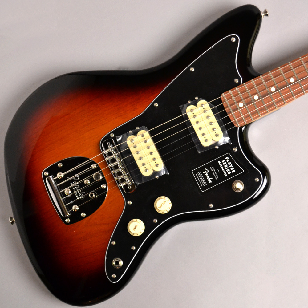 Fender PLAYER Jazzmaster 3-Color Sunburst #MX19128385【Made in Mexico】【送料無料】