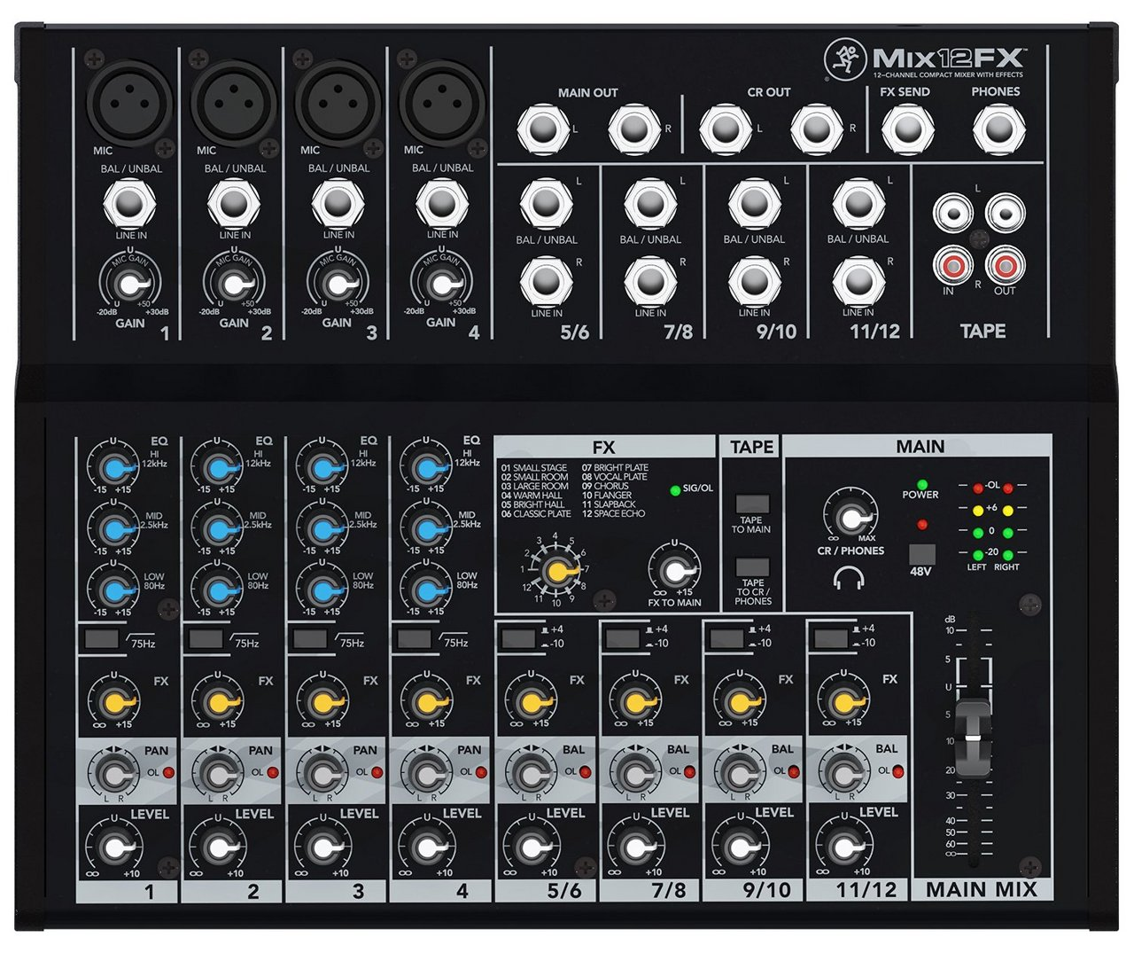 Mackie Mix12FX [high cost-performance compact mixer!] []