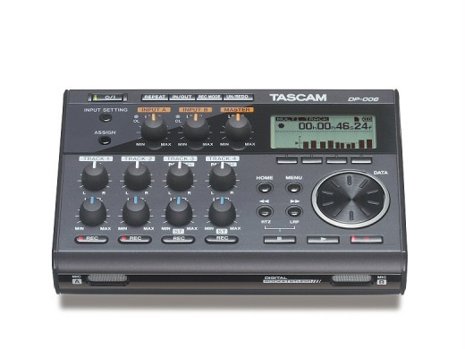 Tascam DP-006 ★ 6 track · SD card recorder