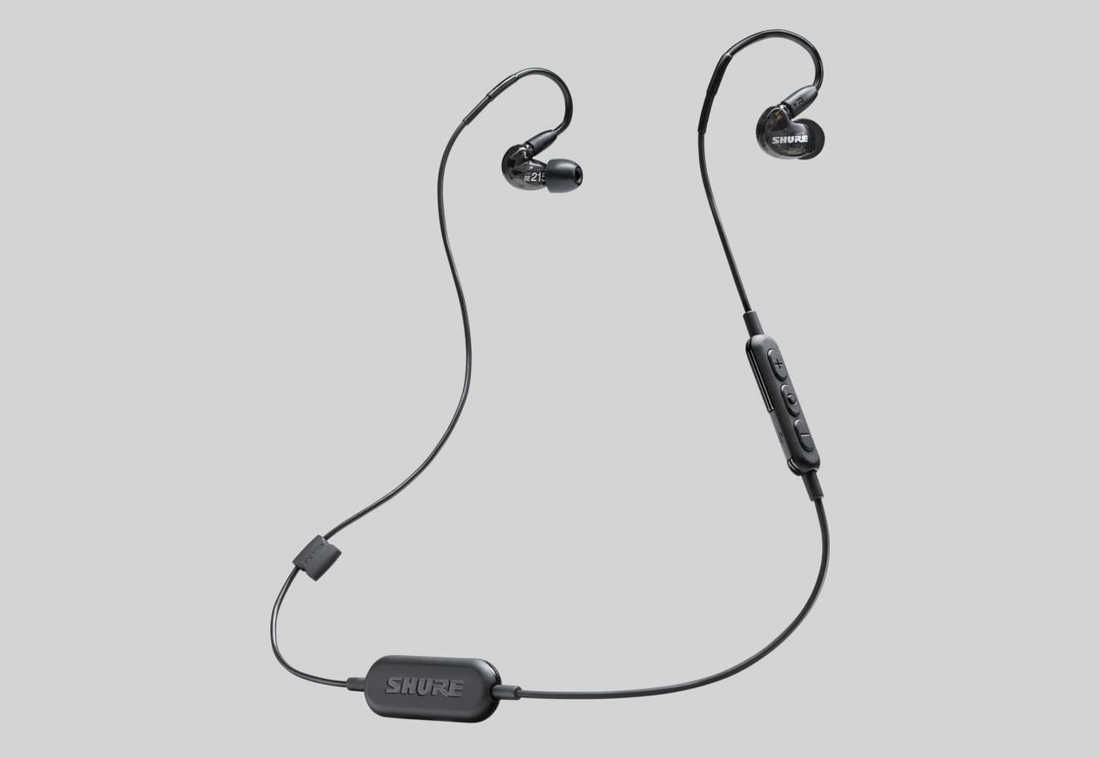 Shure SE215 Wireless BLK(SE215-K-BT1-A)