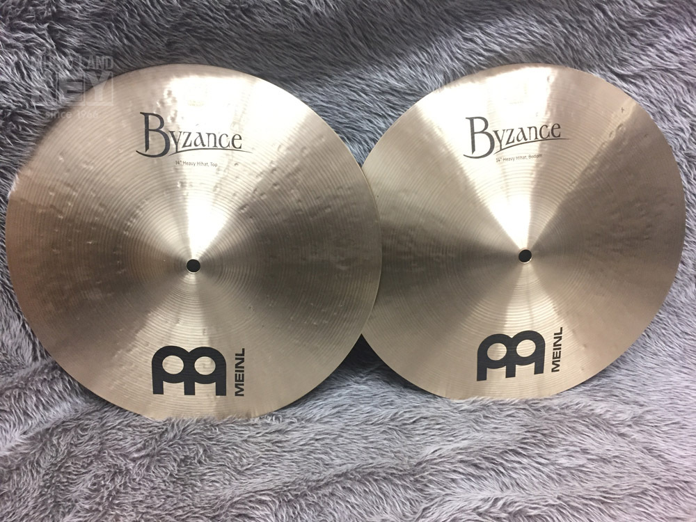 "Meinl B14HH Byzance Traditional HEAVY Hihats 14 ""[exhibition replacement special price]"
