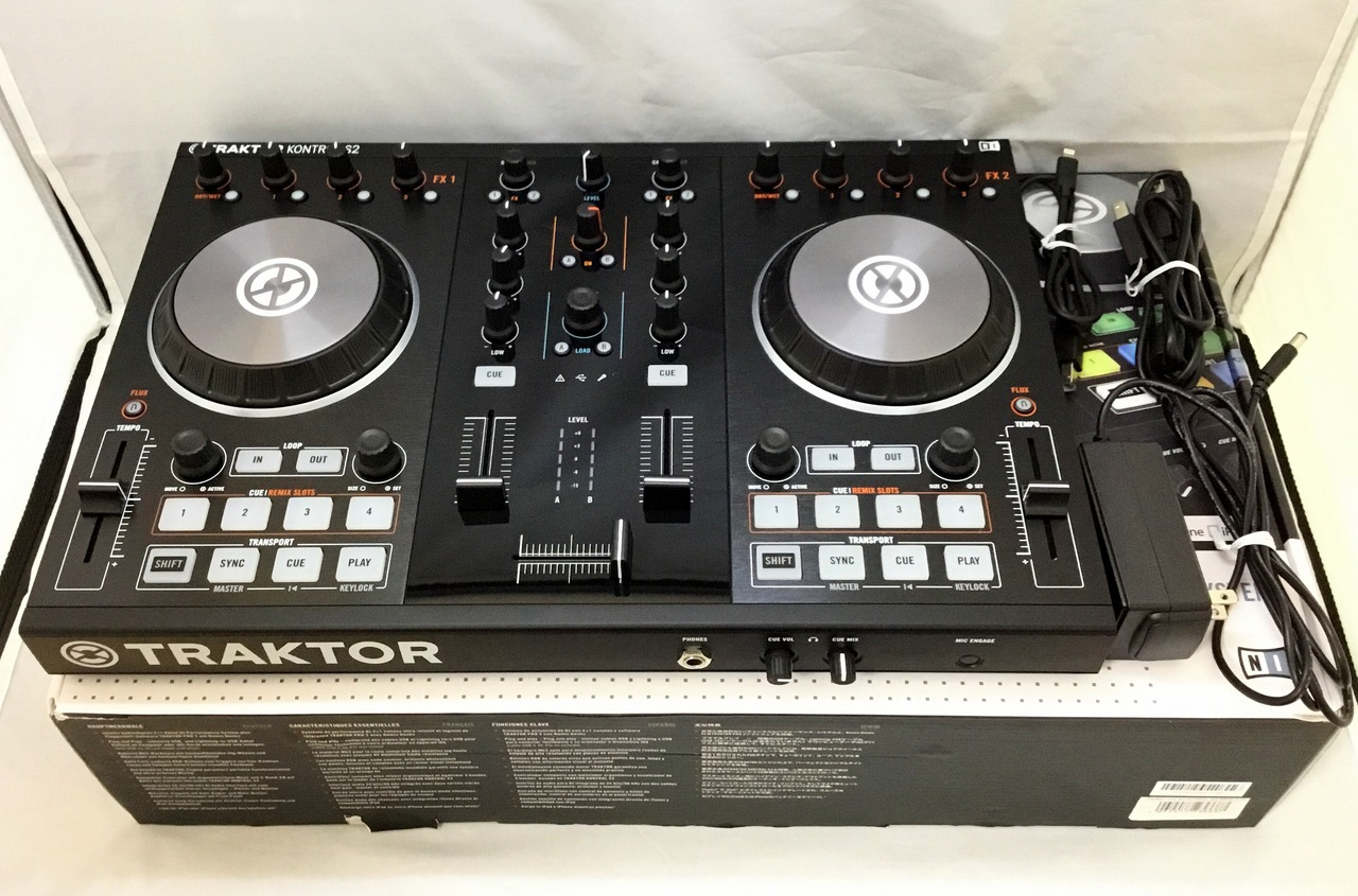 NATIVE INSTRUMENTS TRAKTOR KONTROL S2 MK2 (without software promotion)