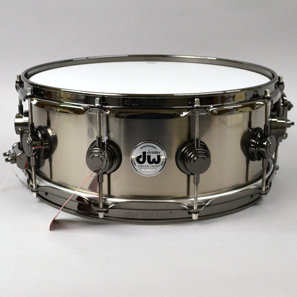 dw TIT 1455SD / TITAN / N Collector's Metal snare drum titanium shell [Kumamoto Parco shop]