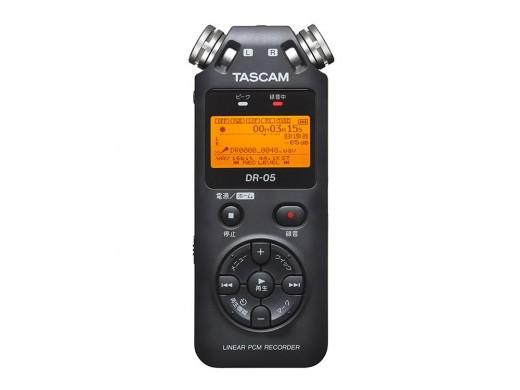 TASCAM DR-05版本2-JJ(日语对应版本)★线性PCM记录器