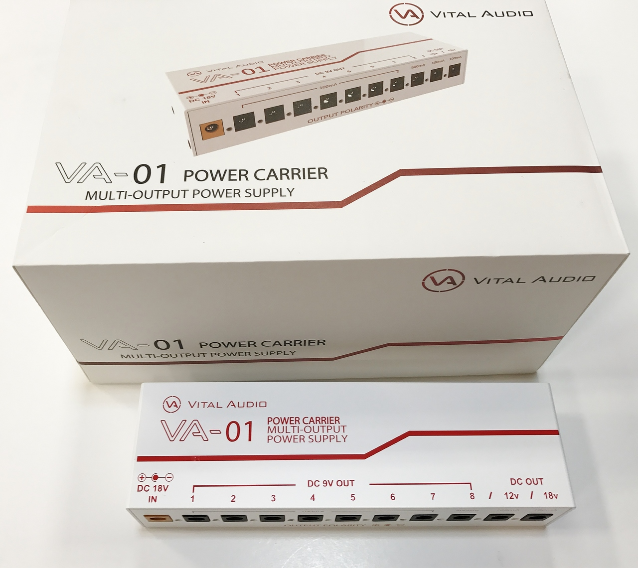 Vital Audio VA-01 POWER CARRIER MULTI-OUTPUT POWER SUPPLY [our best-selling]