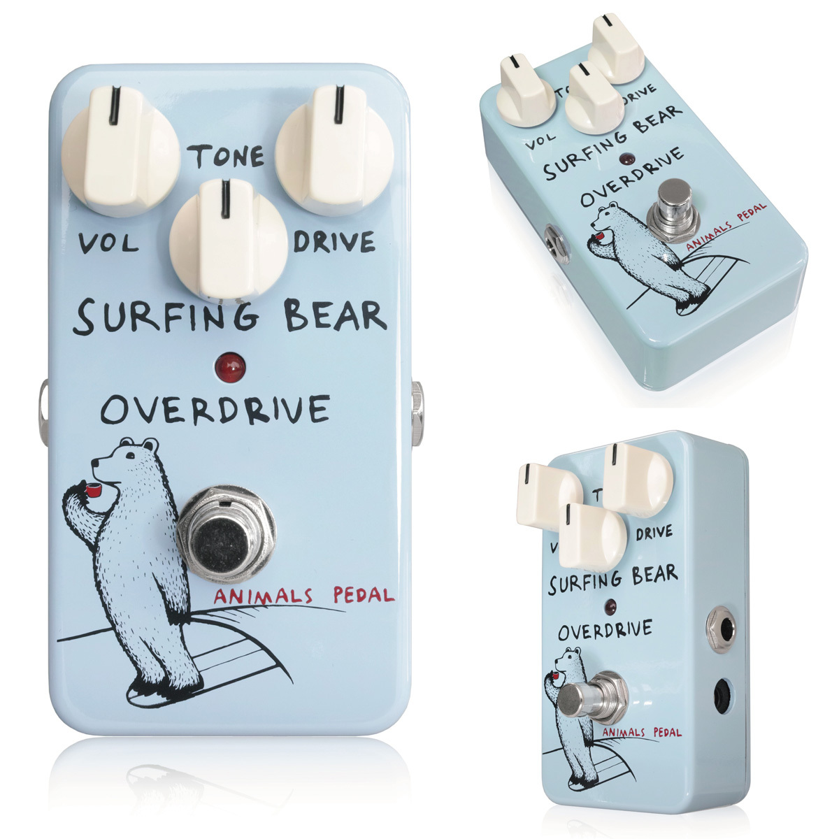 Animals Pedal Surfing Bear Overdrive オーバードライブ 【新宿店】