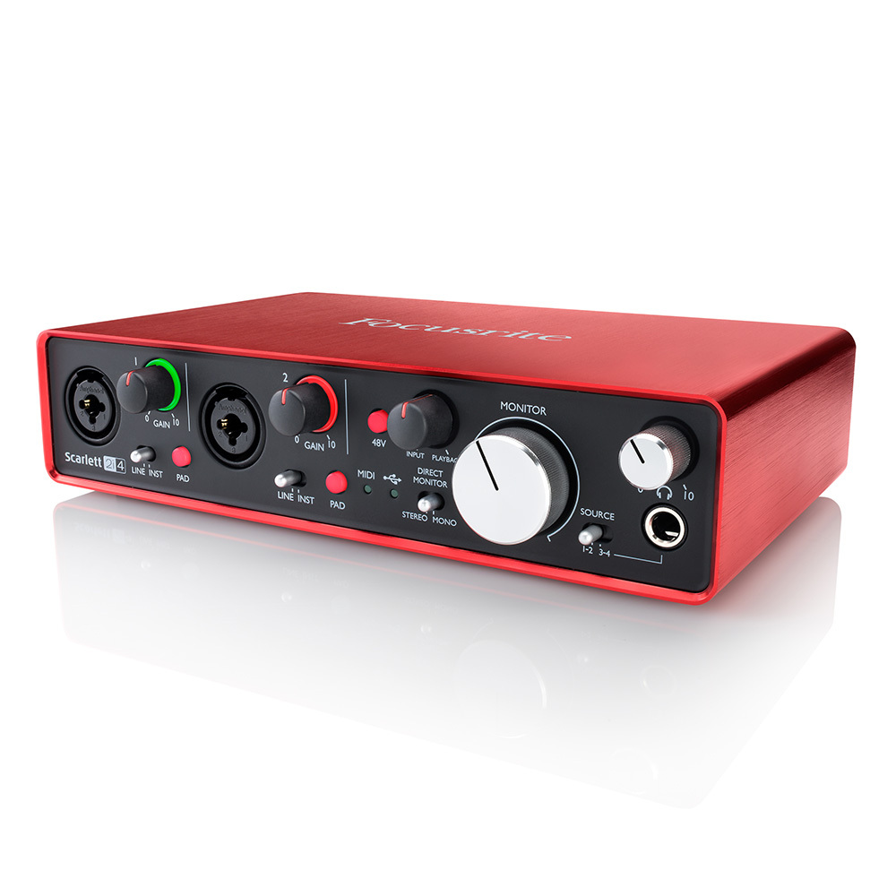 Focusrite Scarlett 2i4 G2 [single limit of new discount! Available now!] [!]