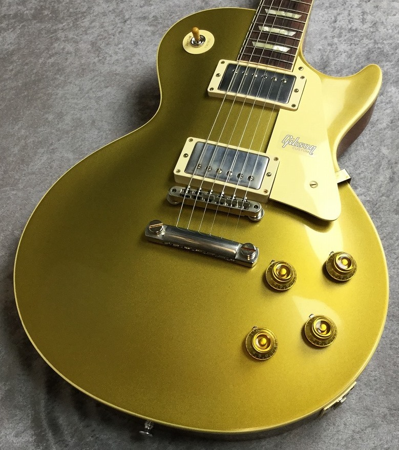 Gibson Custom Shop Historic Collection 1957 Les Paul Gold Top Reissue Double Gold VOS #791373【4.15kg】