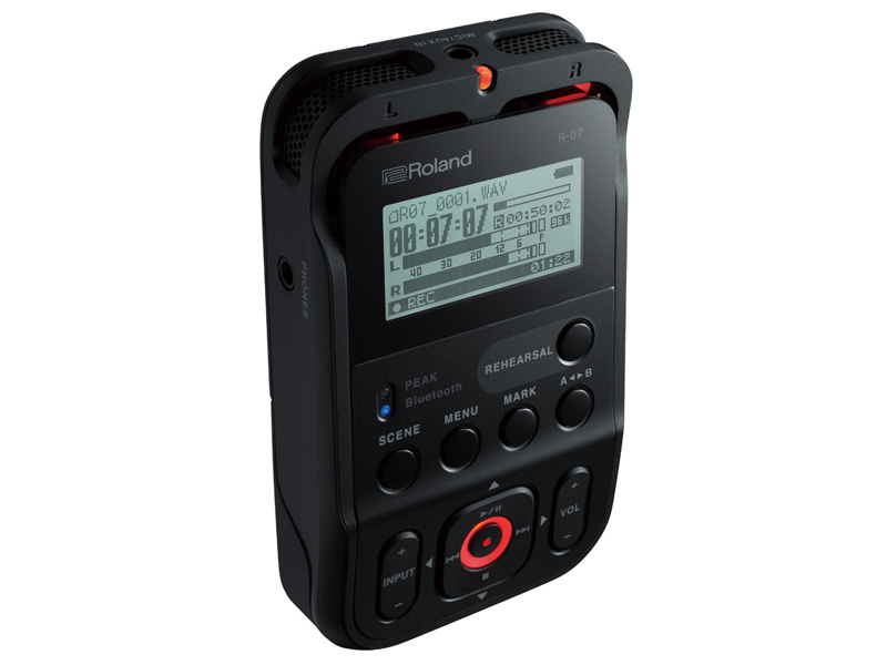 Roland Roland R-07 BK [Hi-Res corresponding Handy recorder!] [Initial stock-minute booking in the receptionist!]