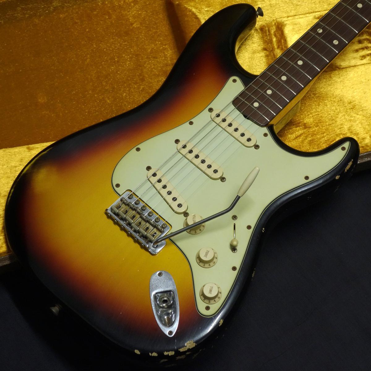 擋泥板定制店1960年的Stratocaster文物旭日2008s [岐阜店]
