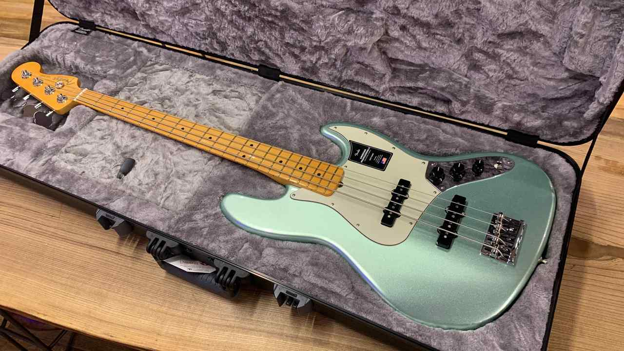 Fender American Professional Ⅱ Jazz Bass Mystic Surf Green