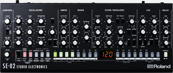 Roland SE-02 [available now! Boutique Series] analog synth
