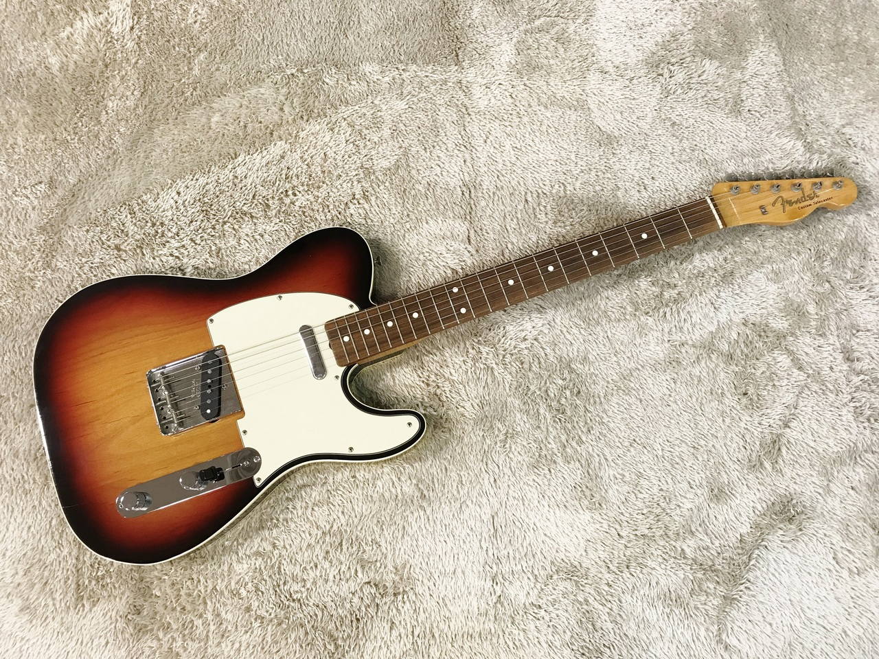 Fender American Vintage '62 Custom Telecaster 3-Color Sunburst [used article] [Made in 2008]