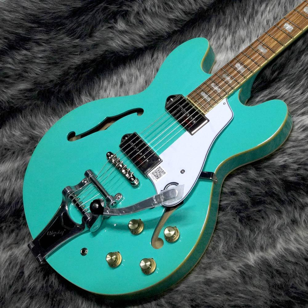 Epiphone Limited Edition Casino Bigsby Turquoise