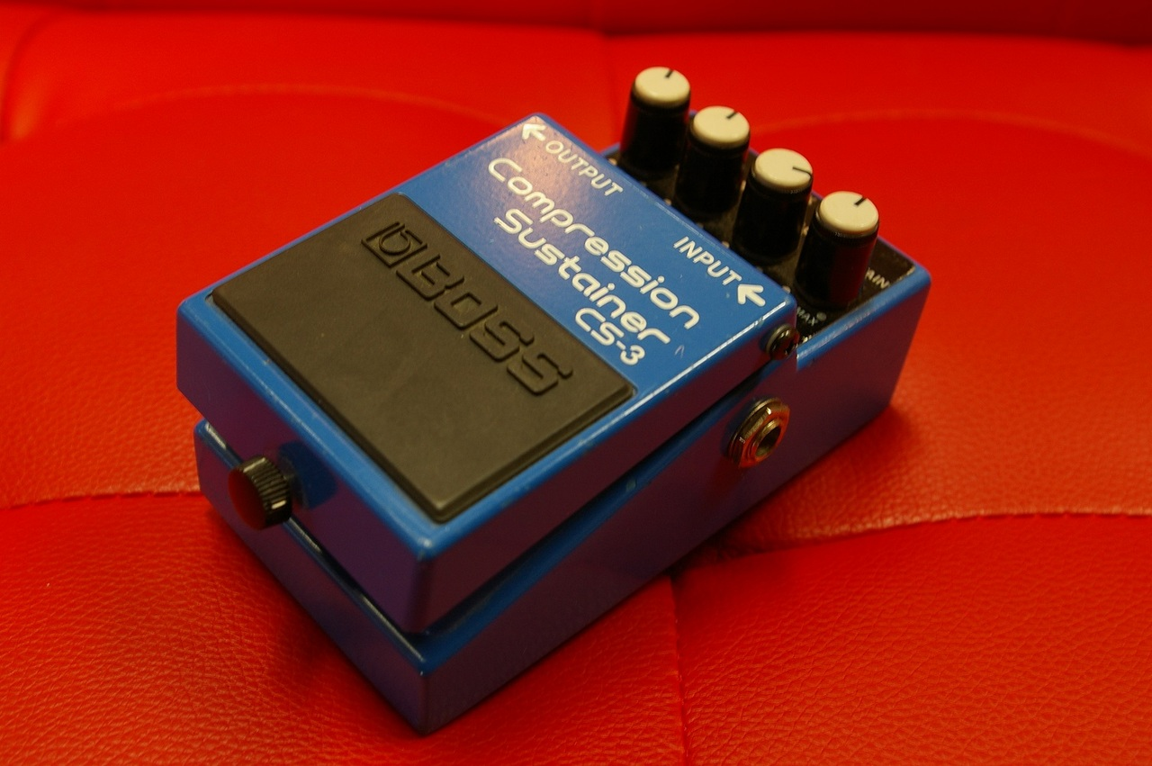 "BOSS CS-3 Compression Sustainer ""MADE IN  TAIWAN"""