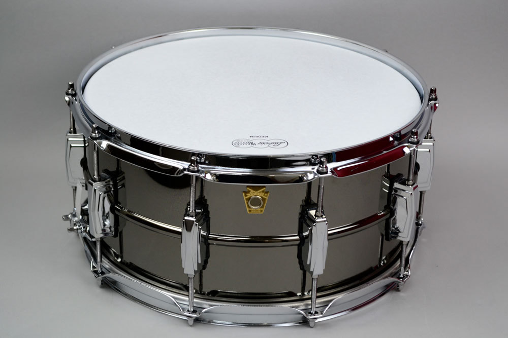 Ludwig BLACK BEAUTY LB417 Black Beauty brass shell 14x6.5 inch Ludwig new special price