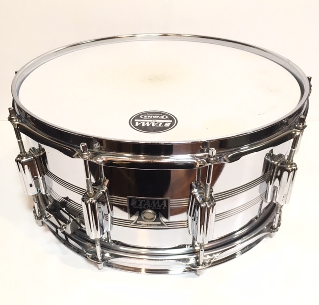 "Tama 80's IMPERIALSTAR POWERLITE STEEL 14 ""× 6.5"" [used article]"