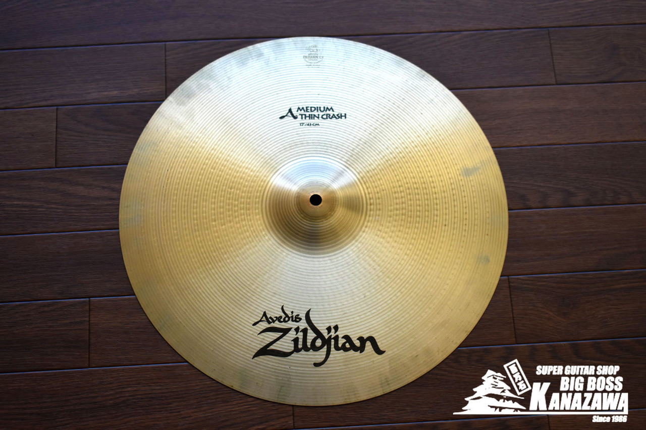 "Zildjian A.Ziljian 17"" Medium Thin Crash"