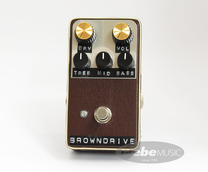Shin's Music Brown Drive [Brown Tolex]