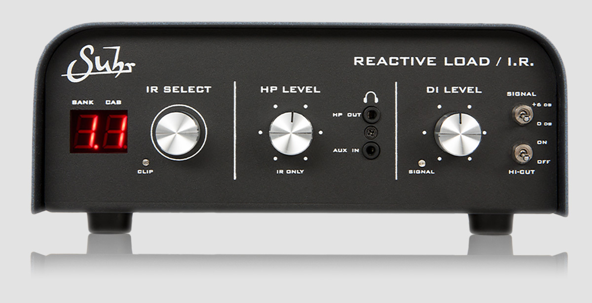 Suhr (regular imports) REACTIVE LOAD [equipped !!!! the cabinet IR to Suhr Reactive Load] IR