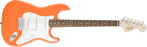 Squier: Electric Guitar Affinity Series ST Competition Orange Laurel FB NEW