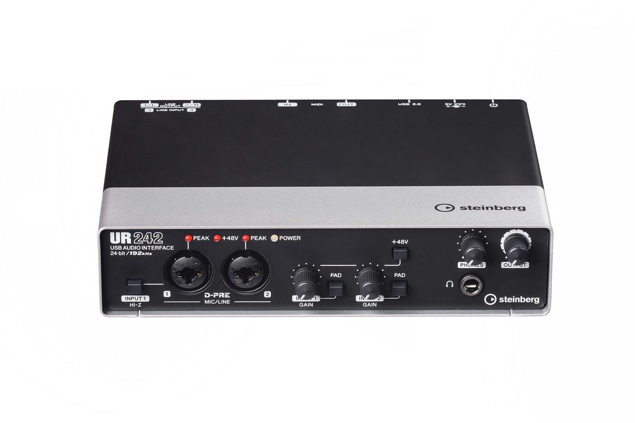 斯坦伯格UR242 [不妥協的音質和強大的DSP功能!]