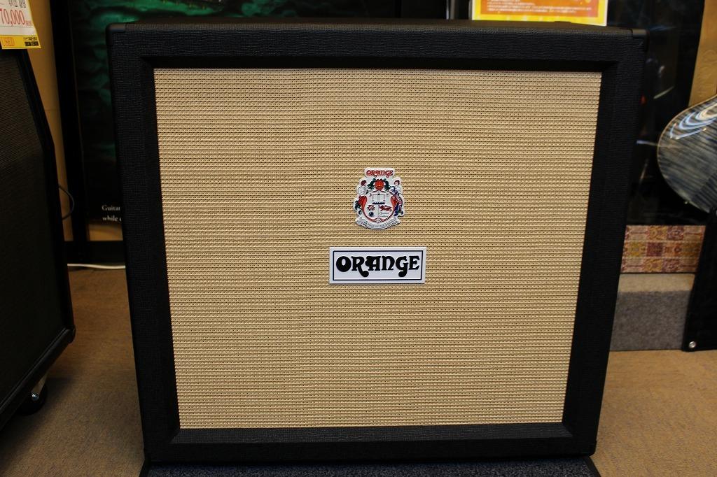 ORANGE PPC412 Cabinet Black 【】【Made in UK】