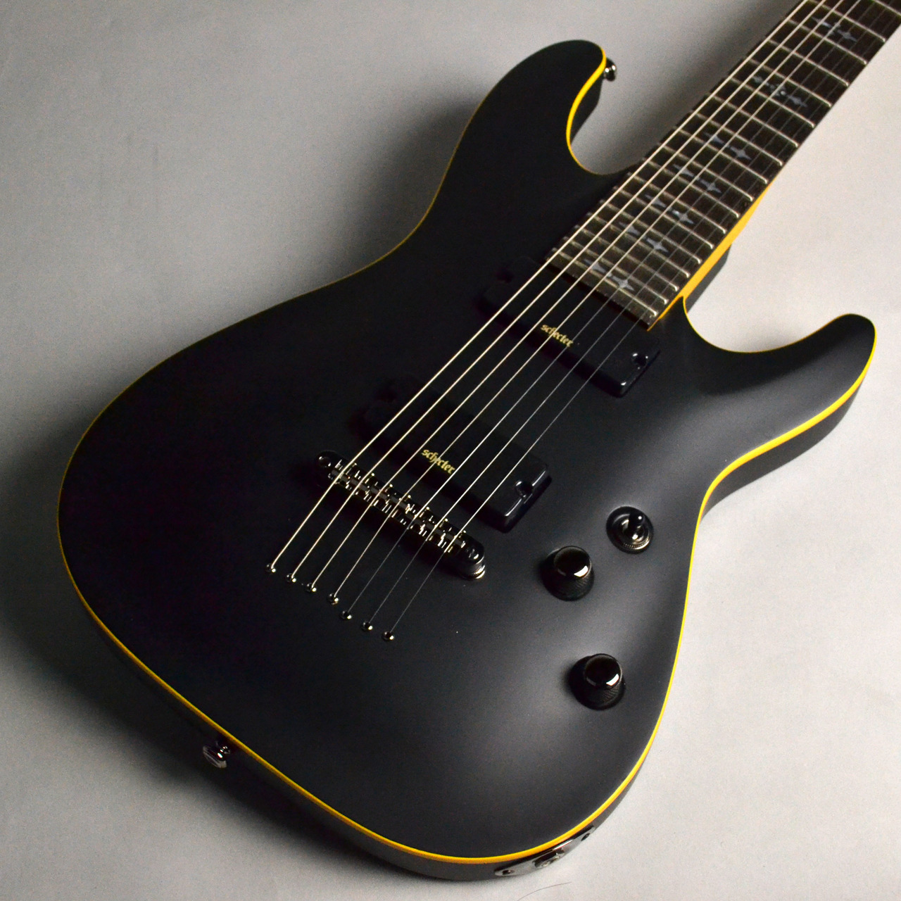 SCHECTER Demon-7 Aged Black Satin <AD-DEMON-7>