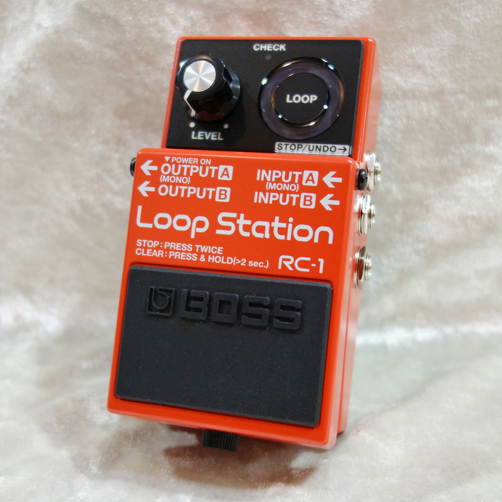 [Simple design looper !! you do not get lost in the operation] BOSS RC-1 -Loop Station-