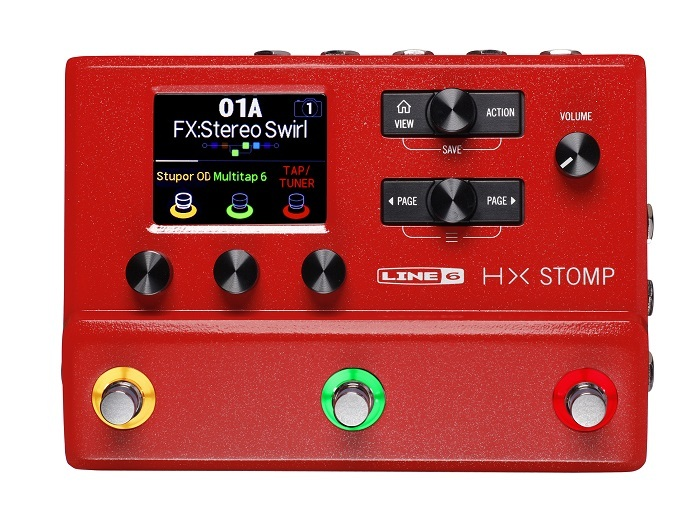 LINE 6 HX Stomp RED