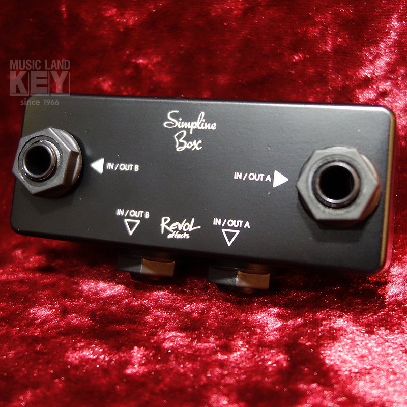 RevoL effects Simpline Box EJB-01 [topic of the manufacturer! Junction box in stock!]