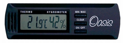 Oasis OH-2 oasis digital temperature and humidity meter